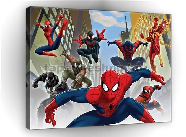 eab72561ae Vászonkép gyerek Spiderman 60 x 40 cm | tapeta-eshop.hu