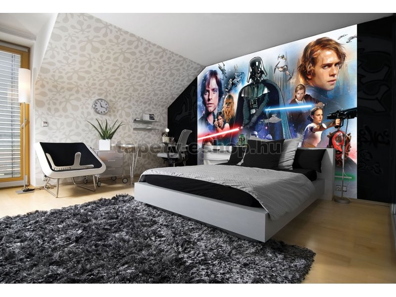 gyerek poszter tap ta star wars pap r 254 x 184 cm tapeta. Black Bedroom Furniture Sets. Home Design Ideas