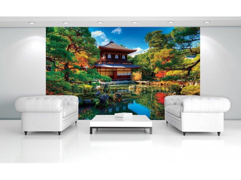 poszter tap ta jap n kert pap r 254 x 184 cm tapeta. Black Bedroom Furniture Sets. Home Design Ideas