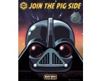 Poszter Angry Birds Star Wars - Vader