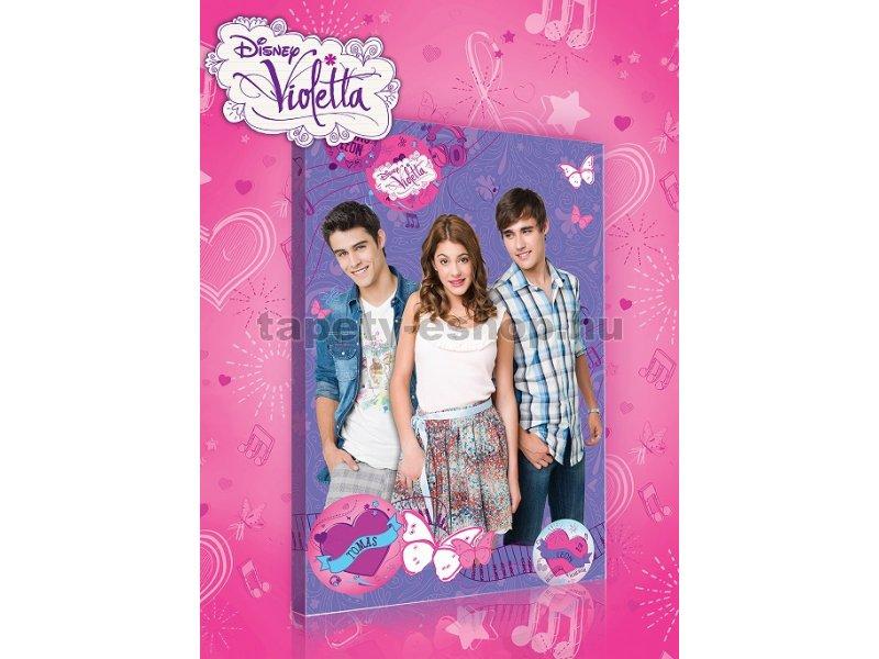 19bdc2f68c Kiárusítás - Vászonkép gyerek Violetta és barátai 60 x 40 cm ...