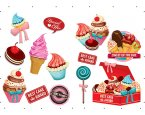 Matrica Cupcakes SPN28WD