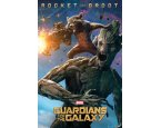 Poszter Guardians Of The Galaxy - Groot And Rocket