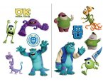 Gyerek matrica Monster University SPL15