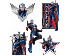 Gyerek matrica Iron Patriot SDC029