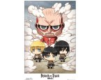 Poszter Attack On Titan - Chibi Group